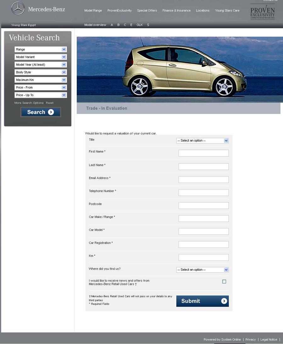 Snapshot for Mercedes benz bank login